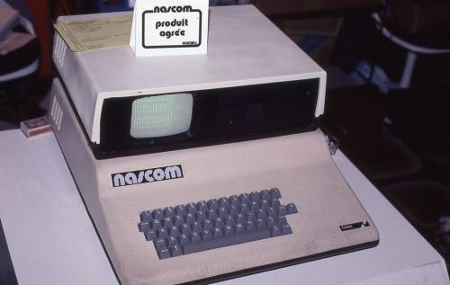 Nascom 2  computer, September 1981